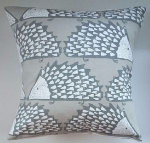 "Cushion Cover in Scion Spike The Hedgehog Mink 14"" 16"" 18"" 20"""